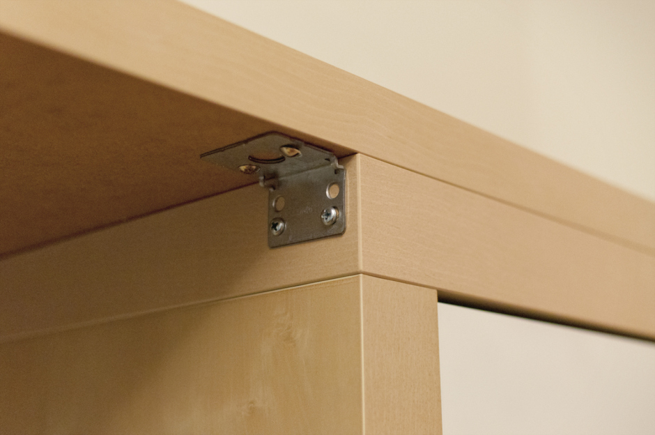 diy une expedit transform e en bureau initiales gg. Black Bedroom Furniture Sets. Home Design Ideas