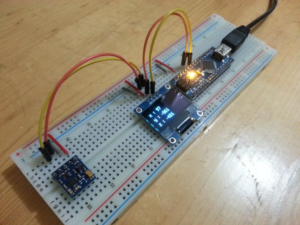 Arduino er nano gy digital compass module
