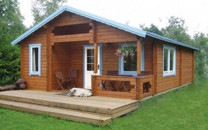 Modelos de casas pr fabricadas de madeira for Cheap model homes