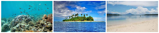 Pulau Tagalaya - Wisata Halmahera Utara (Wilayah Tobelo)