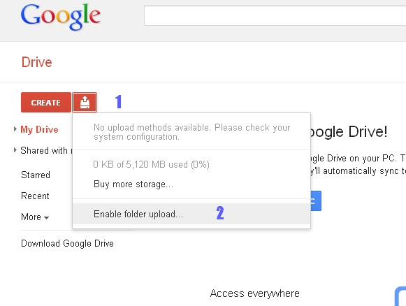 How to Use Google Drive and Get 5GB of free Storage [Medium] - Tips ...