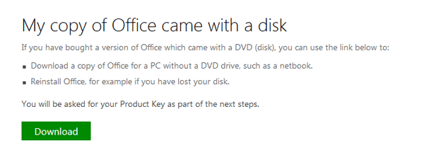 download copy disk of office