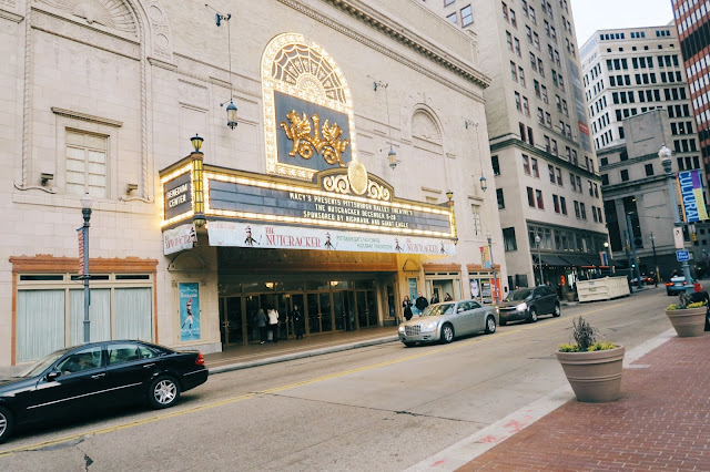 Pittsburgh Ballet Theater's Nutcracker at the Benedum Center