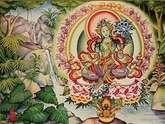 Arya Tara ou Tara Verde