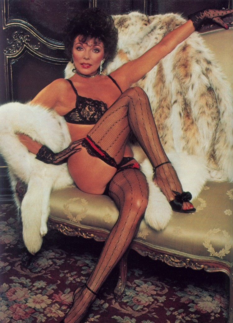 playboy nude Joan collins