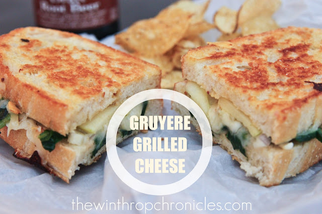 Gruyere & Apple Grilled Cheese