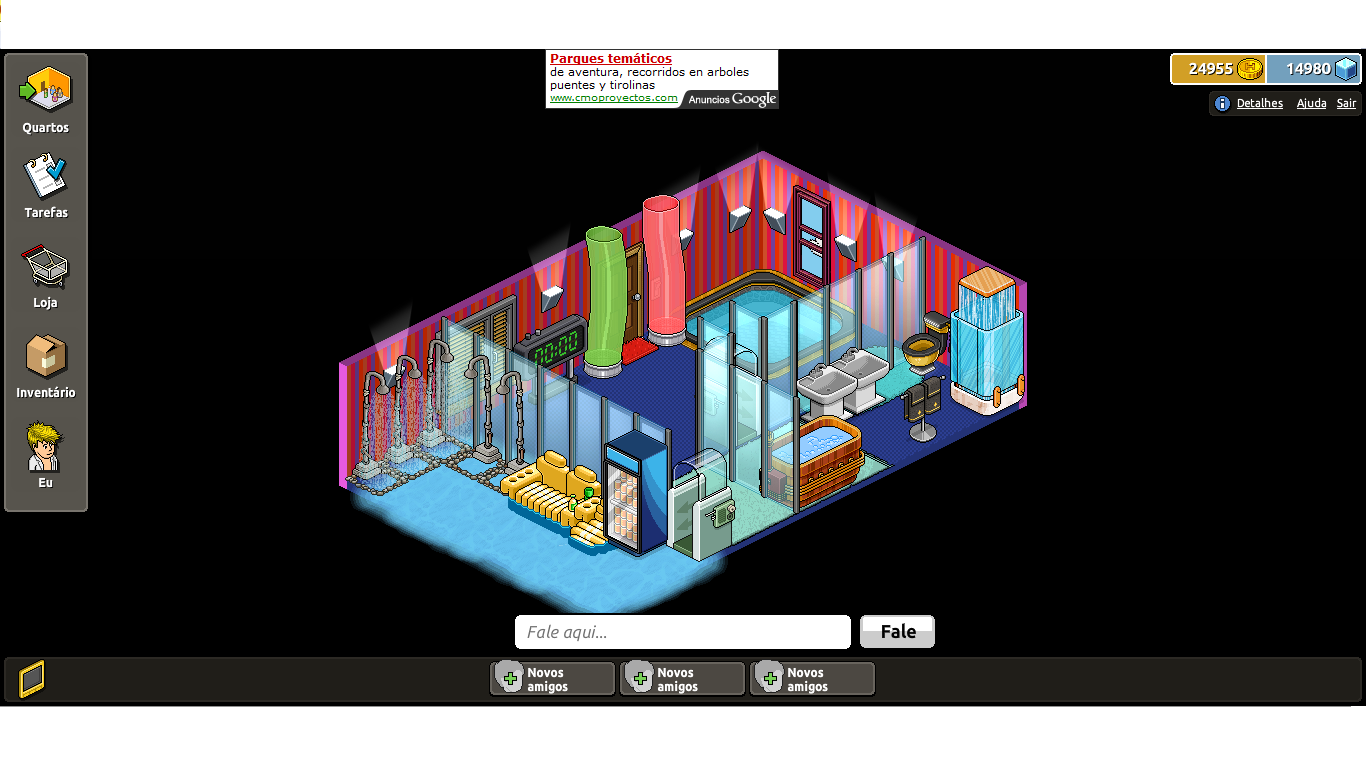 Habbo casa de banho habbo for Casas en habbo