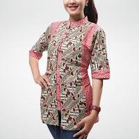 Model Batik cewek