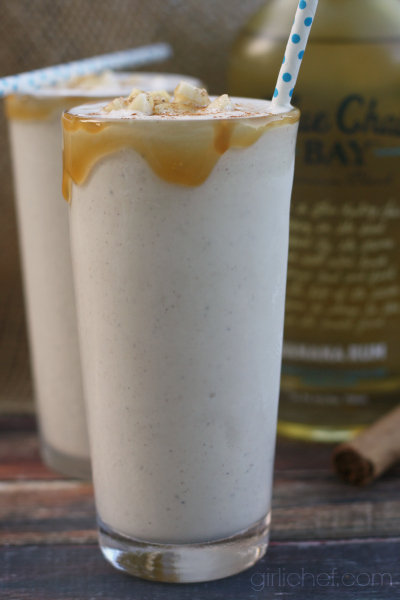 Blue Chair Bay Banana Rum Giveaway + Boozy Bananas Foster Milkshakes ...