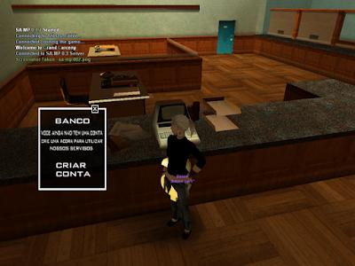 Sistema Bancário em Textdraw