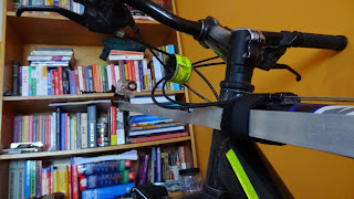 GoPro Pole on Bike for Vlogging