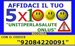 "VI INVITIAMO A DESTINARE IL VOSTRO ""5 X  1000"" ALLA NOSTRA ASSOCIAZIONE CON IL CODICE ""92084220091"""