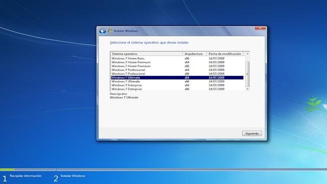 Imagen1 Microsoft WINDOWS 7 FULL [Español] [Todas las versiones 32   64 bits  en 1 ISO] [+ crack activador]