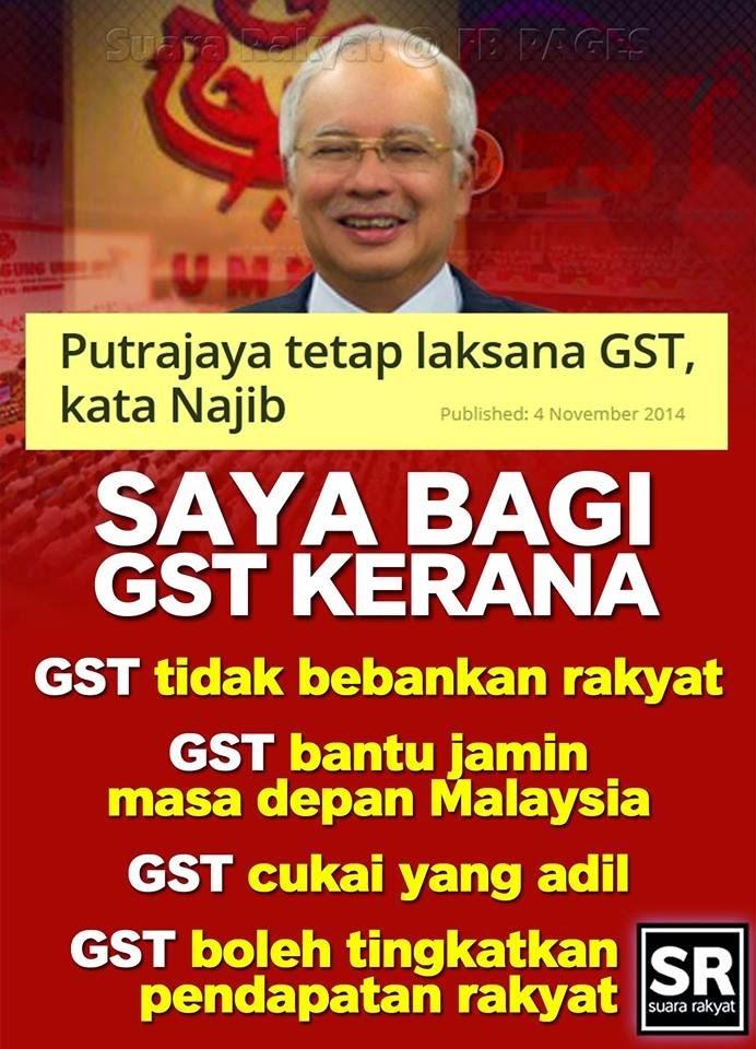 GST Bekas Menteri Ramal Tsunami Melayu