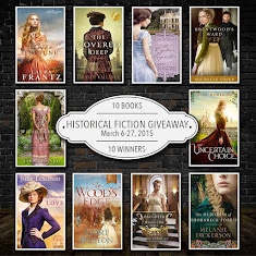 Historical Fiction Giveaway~March 6-27