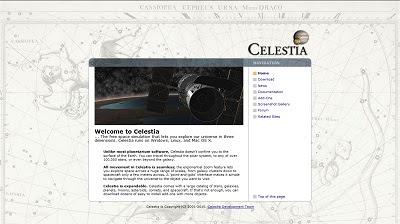Celestia, Astronomy