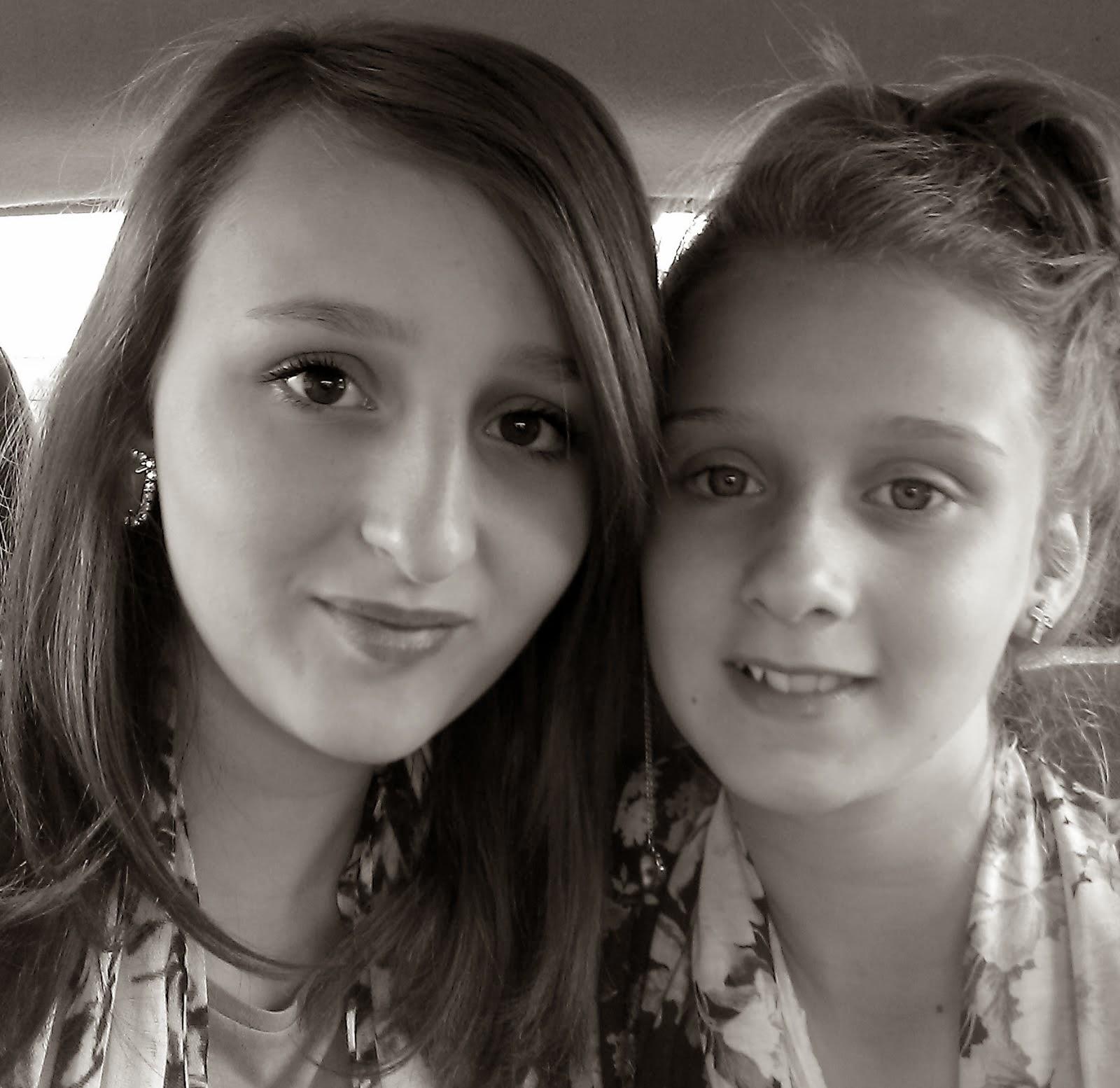 Courtney and Caitlin