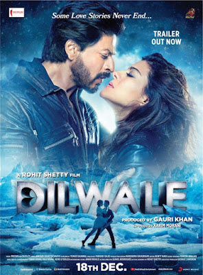 Download Dilwale (2015) Hindi Full Movie NR DVDRip 1CDRip 700MB Download