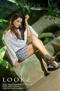 Chandi Anupama milky thighs