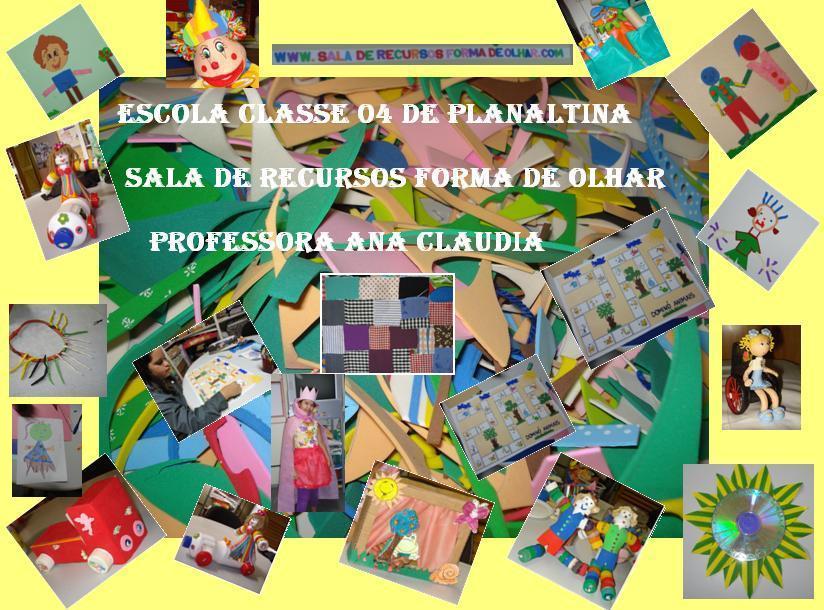 SALA DE RECURSOS FORMA DE OLHAR 2012