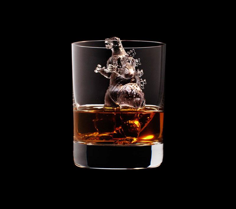 Incríveis e criativos Cubos de Gelo feitos em impressora 3D