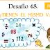 Cuarto Grado: Desafío 48 → ¿Tienen el mismo valor?