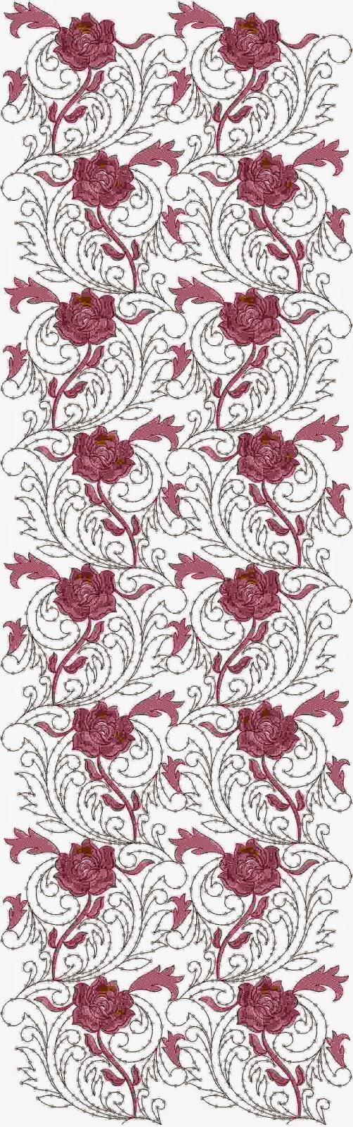 Promosie borduurwerk Patroon