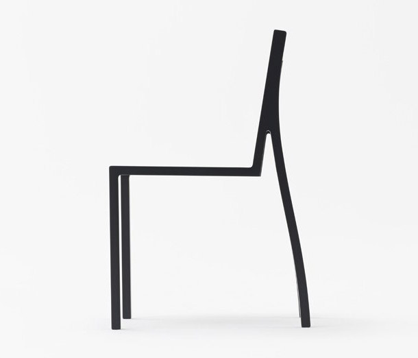 Heel Chair - cadeira de design minimalista do estúdio Nendo