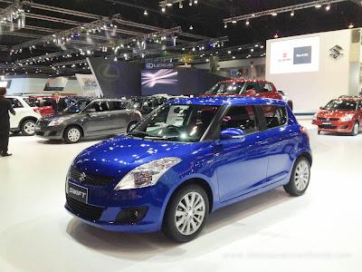 Motor-show-ALL-New-Suzuki-Swift-biru