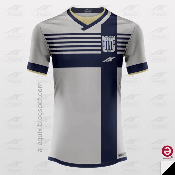 Aequix Design  Alianza Lima  Peru    Home   Away   Third   GK