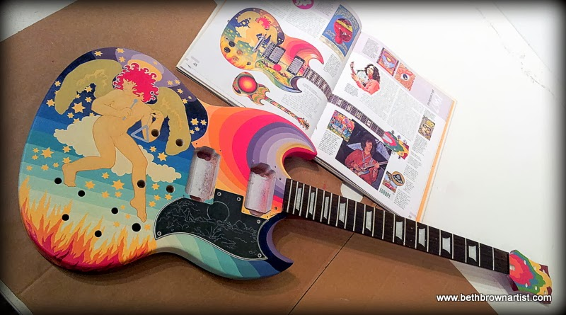 Im Not Sure When The Photo In Book Classic Guitars Of 60s Was Taken Before Or After Guitar Refinished I Dont Know How Paint