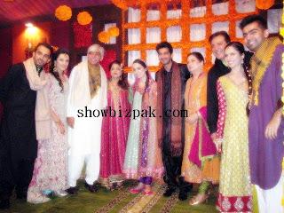 Shahzad Sheikh Mehndi Reception