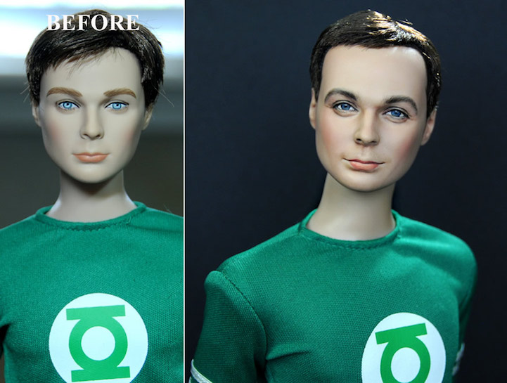 01-Big-Bang-Theory-Sheldon-Cooper-Jim-Parsons-Noel-Cruz-Hyper-Realistic-Make-up-on-small-Dolls-www-designstack-co