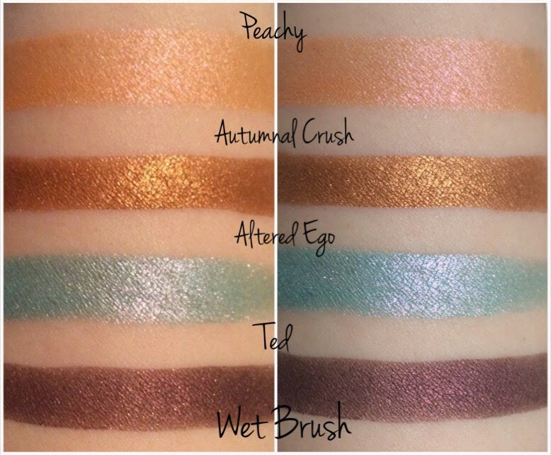 autumnal crush, altered ego, ted, peachy