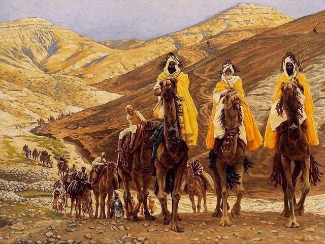 Los Reyes Magos - www.historiadelascivilizaciones.com