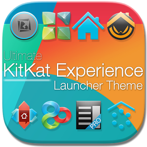 KitKat 4.4 Launcher Theme icon v2.31 Full Apk Paid