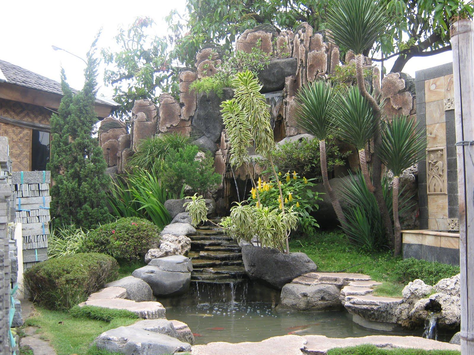 taman dari batu alam