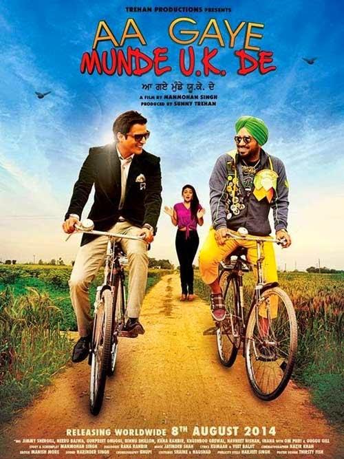 Aa Gaye Munde U.K. De Movie Poster