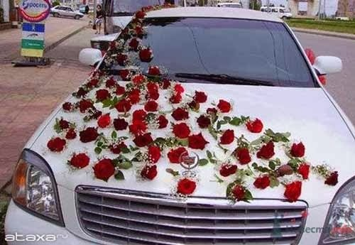 Link camp wedding car flower decoration collections 2013 6 for Automobile decoration