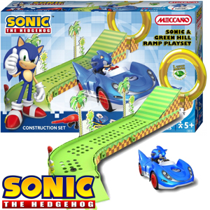 Sonic The Hedgehog Green Hill Ramp Playset
