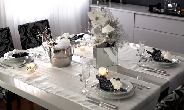 decoracao mesa branca: Mesas Decoradas para o Natal! Veja ideias e dicas para deixar sua mesa