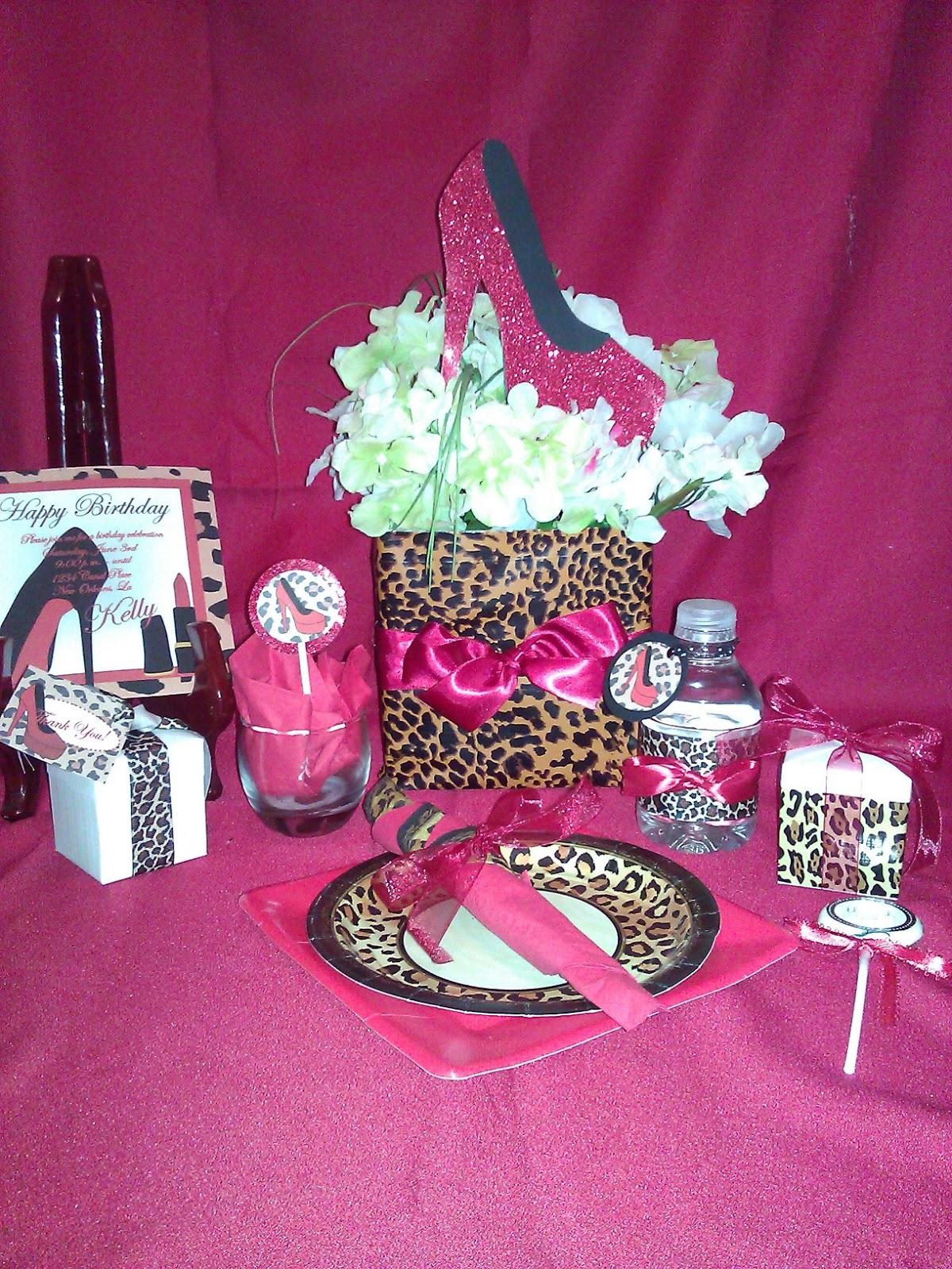 Google themes leopard - Leopard Bridal Shower Theme