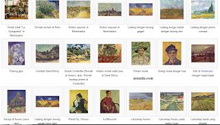 lukisan karya vincent van gogh beserta keterangannya  lukisan karya vincent van gogh dan keterangannya