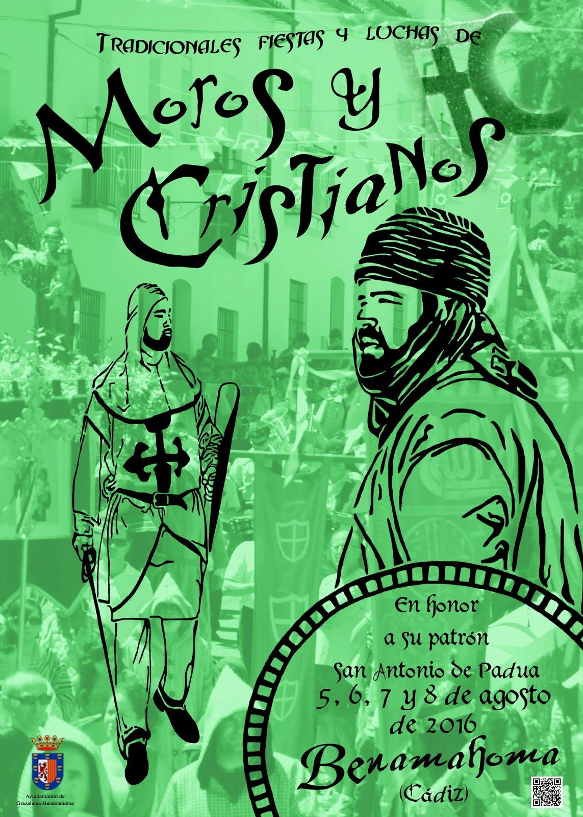 Fiestas de Moros y Criatianos en Benamahoma