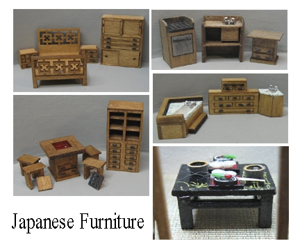Good sam showcase of miniatures at the show quarter scale for Scale model furniture