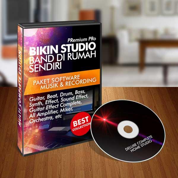 "Paket Premium ""Bikin Studio Band di Rumah"" COMPLETE EDITION"