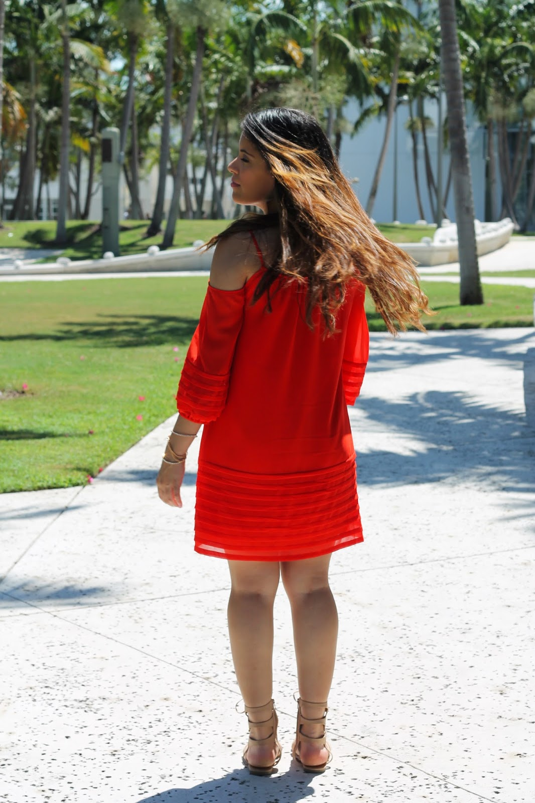 sandals, shift dress, tassel, bebe, summer, fall, miami, fashion blogger, call it spring, style, fashion, new york, blogger, women, cold shoulder, beauty, accessories, comfortable, sale, dress, orange, red, model, new york, ny, pretty, beautiful