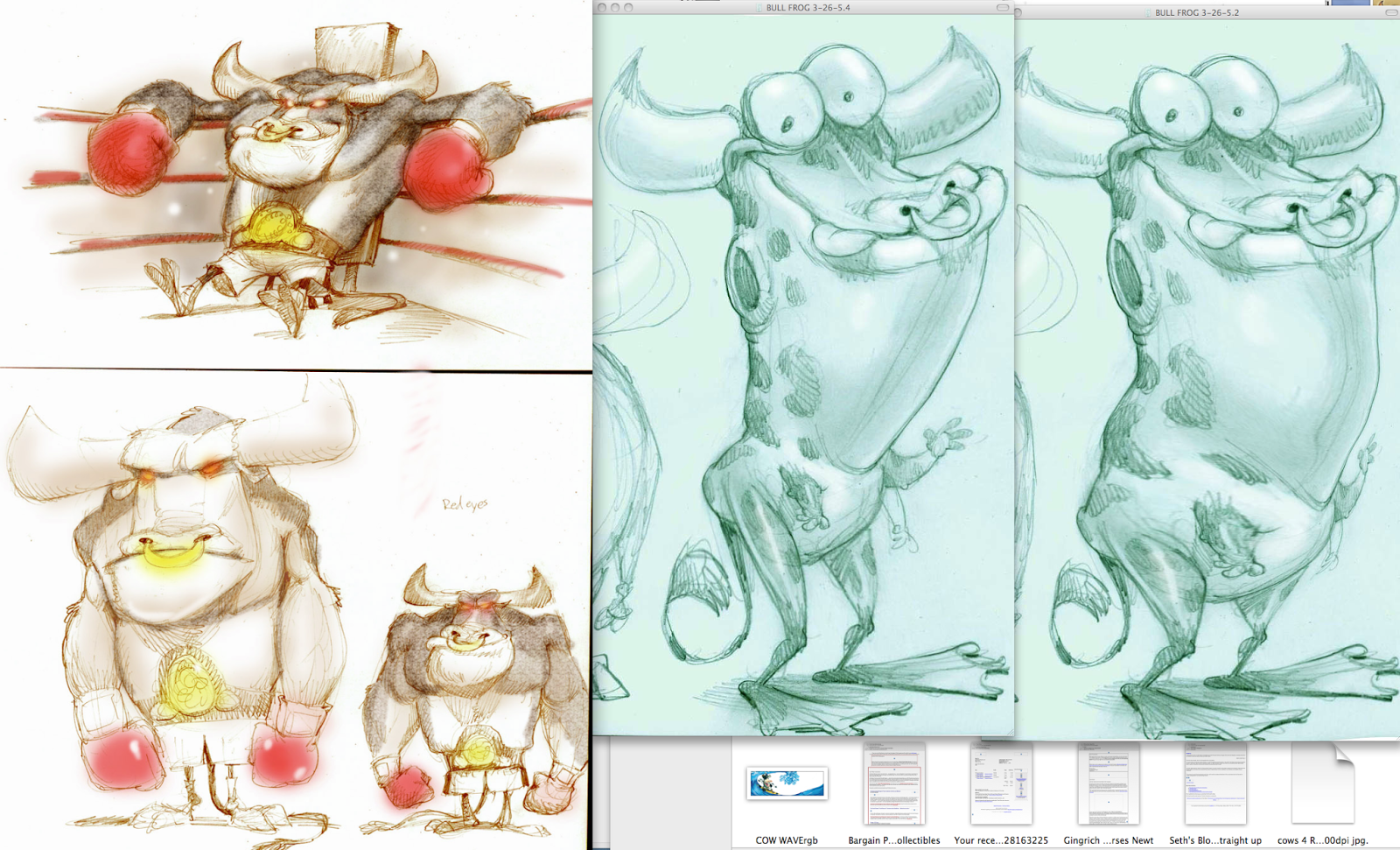 Mixed up Animal Drawings And Draw Them Mixed up
