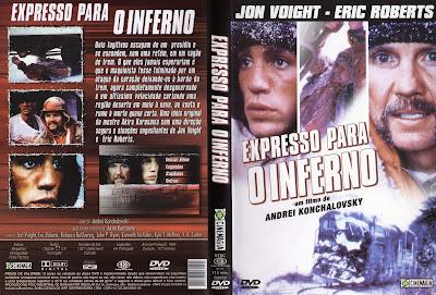 Expresso para o Inferno DVD Capa