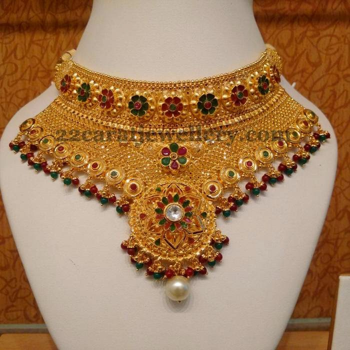india gold heavy bazar ajay swf jewellery street zaveri shamseth fl mumbai fusia chawl building fashon sfp chhipi no necklace set